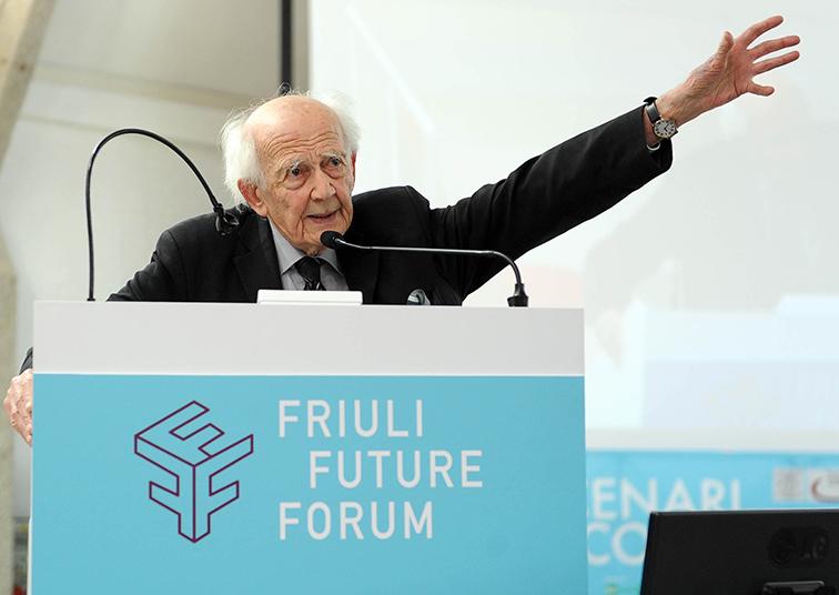 Future Forum 2016/16 – Bauman boccia l'individualismo e 'salva' le città