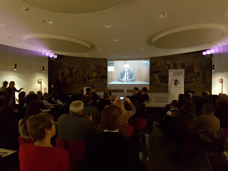Il videointervento di Tito Boeri al Future Forum Udine