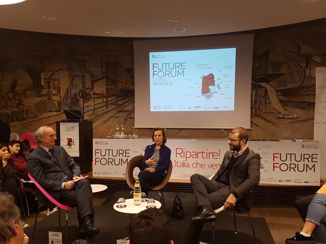 Future Forum /13 - Elsa Fornero: necessaria più coesione nel Paese