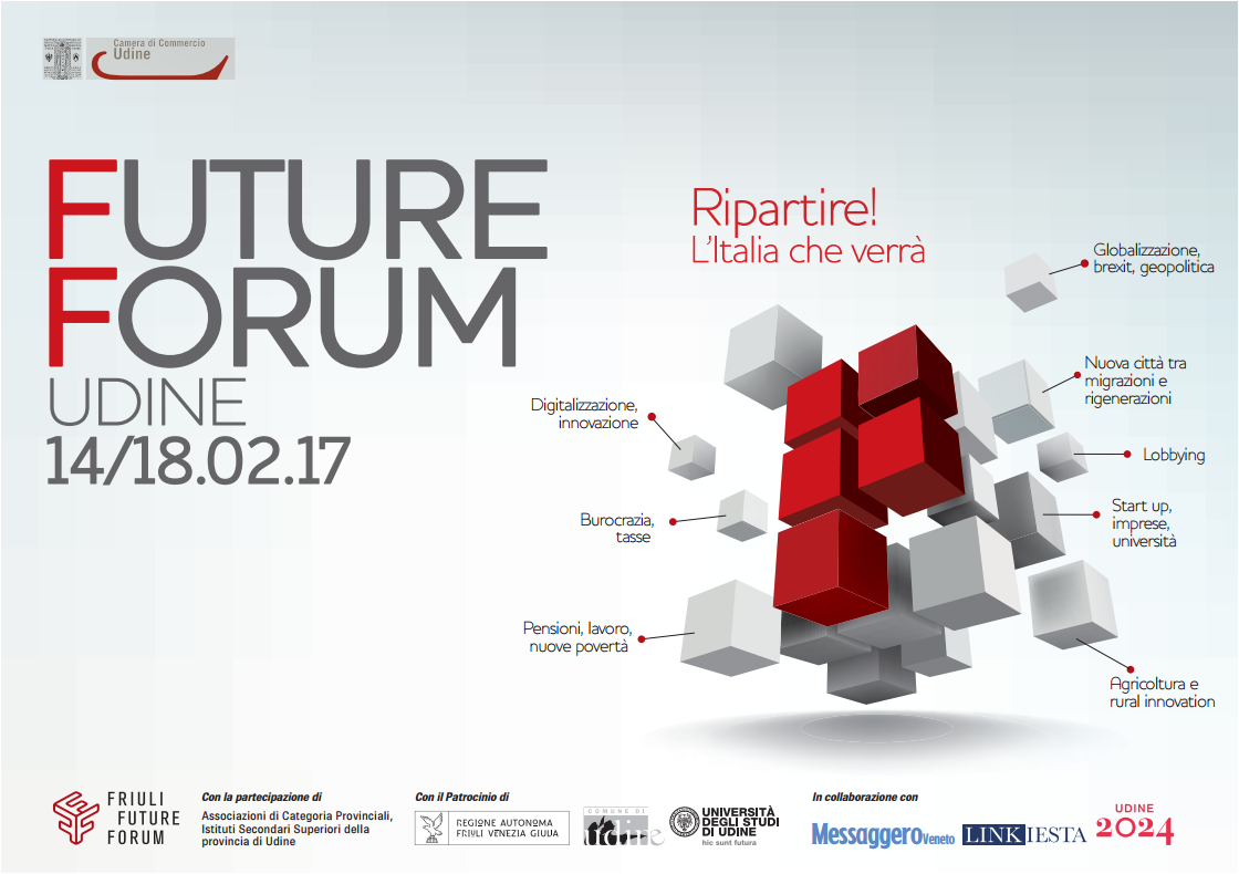 Conferenza stampa Future Forum 2017