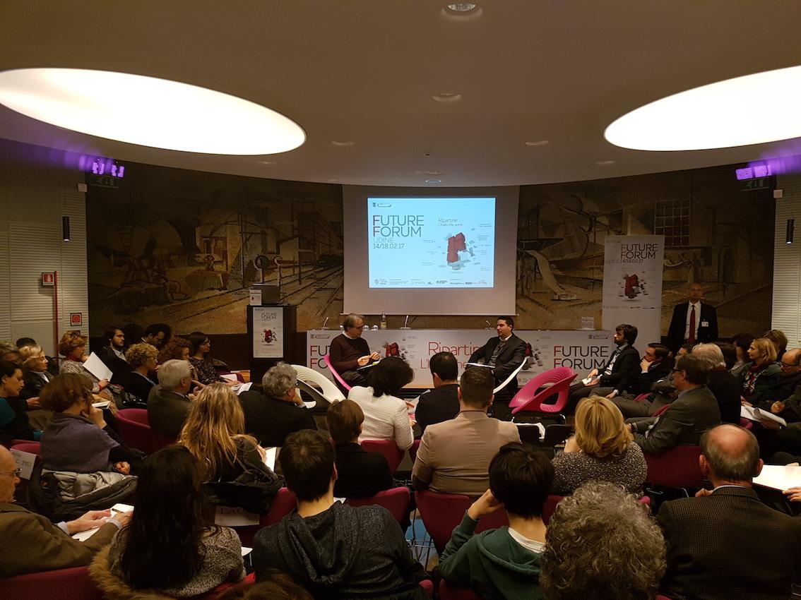 Subirats e Russo Spena Future Forum Udine