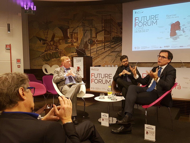 Boccia Carbone Feltri Future Forum Udine
