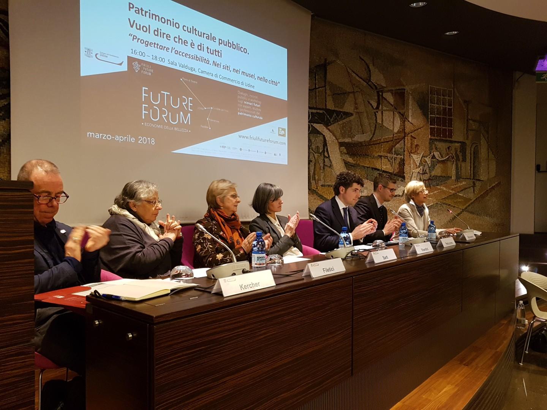 Future Forum 2018/02 Siti culturali e turistici accessibili per tutti