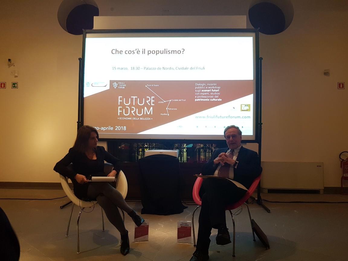 Future Forum 18/03 - I Dialoghi su potere ed economia a Cividale (primo giorno)