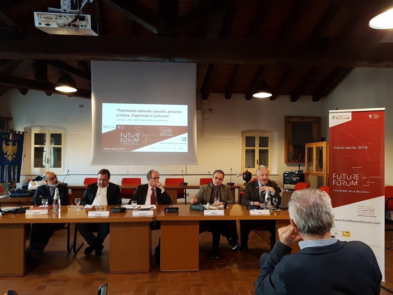 Future Forum 18/ 08 - Aquileia - Patrimonio culturale: passato, presente e futuro. Esperienze a confronto